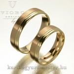 Hogyan készül a kétszínű karikagyűrű?
